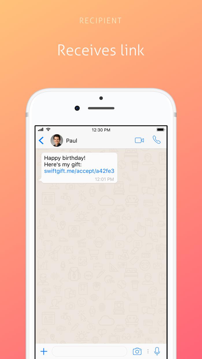 SwiftGift Screenshot