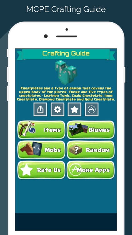 Guide for Minecraft: Crafting