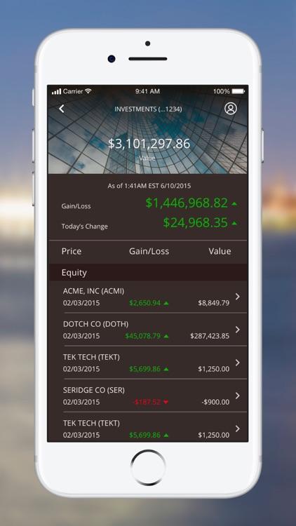 J.P. Morgan Mobile® screenshot-5
