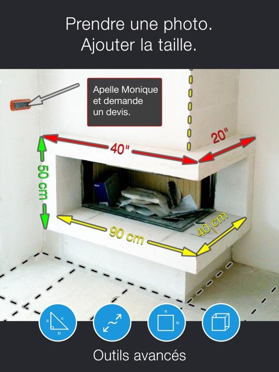 Screenshot #4 pour My Measures PRO + AR Measure