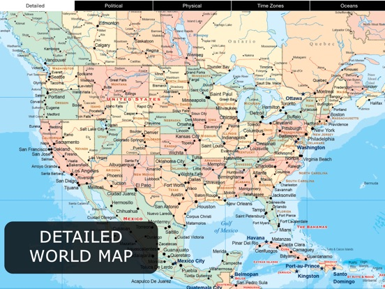 Denver World Map.World Map Pro For Ipad App Price Drops