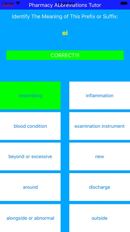 Pharmacy Abbreviations Tutor screenshot-4