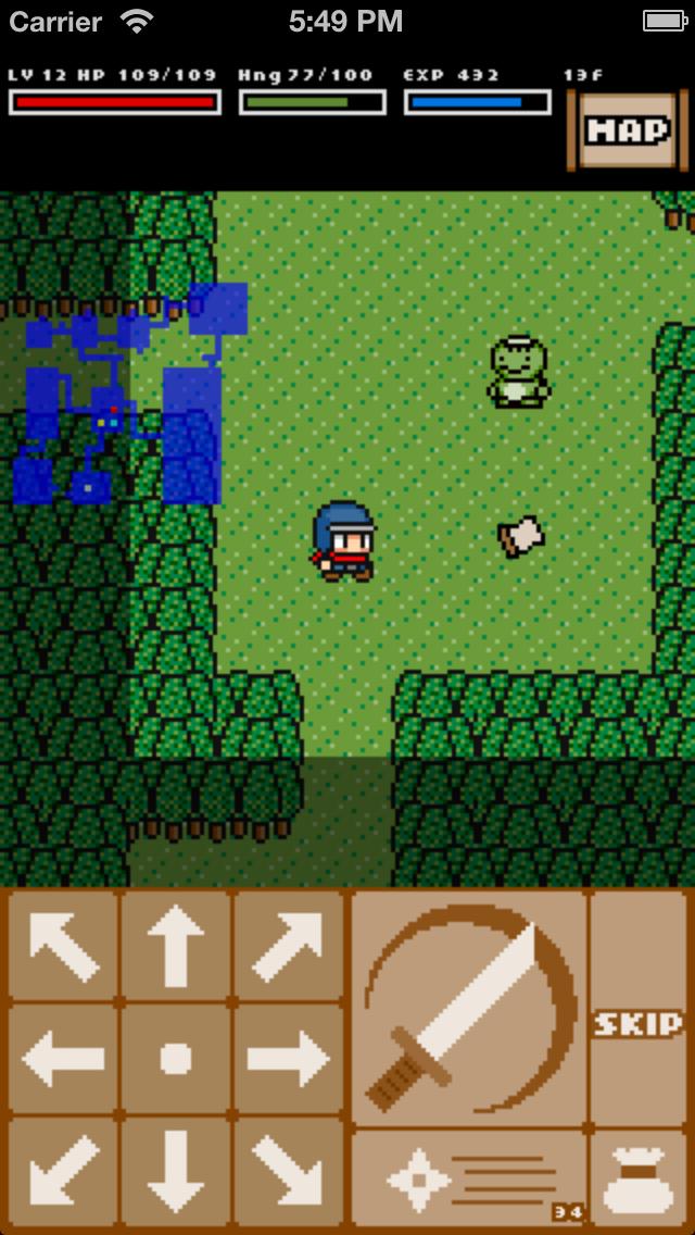 Rogue Ninja - ローグライクRPG screenshot1