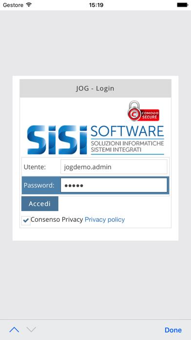 Screenshot of Gestionale JogPlus1