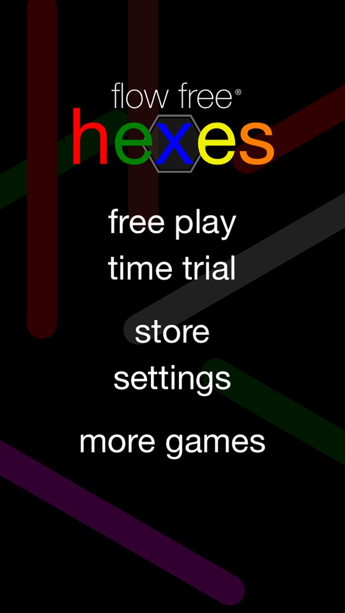 Flow Free: Hexes Screenshot