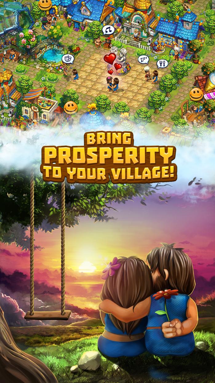 The Tribez: Build a Village Screenshot