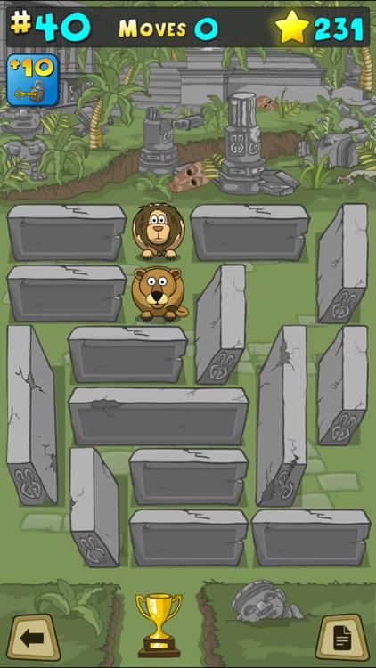 Animal Rescue Puzzle Block Challenge screenshot-3