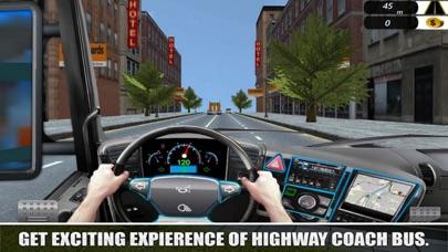 Highway Traffic: Bus Racer screenshot 2