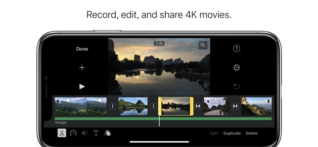 Imovie on the app store screenshots iphone ipad ccuart Images