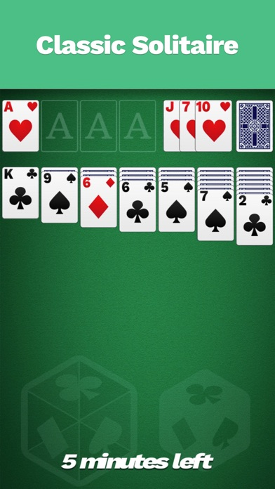 Solitaire Cube, Classic Cards for Windows