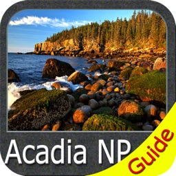 Acadia National Park - GPS Map Navigator