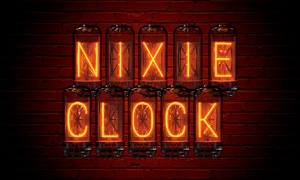 Nixie Clock TV