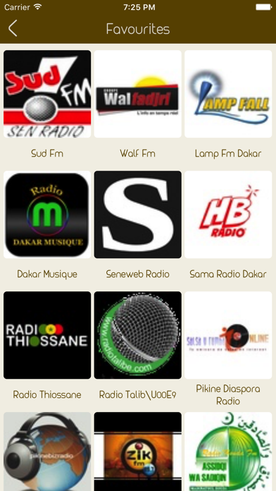 Live Senegal Radio Stations screenshot three
