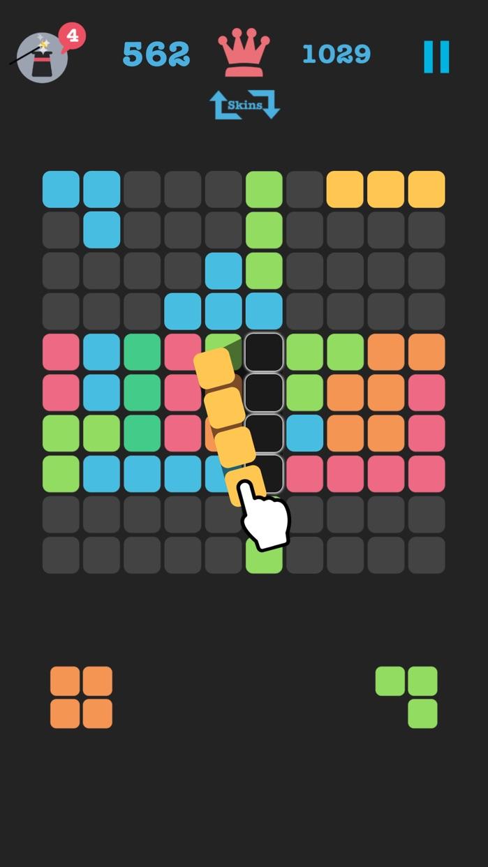 Fill The Blocks - Puzzle Game Screenshot