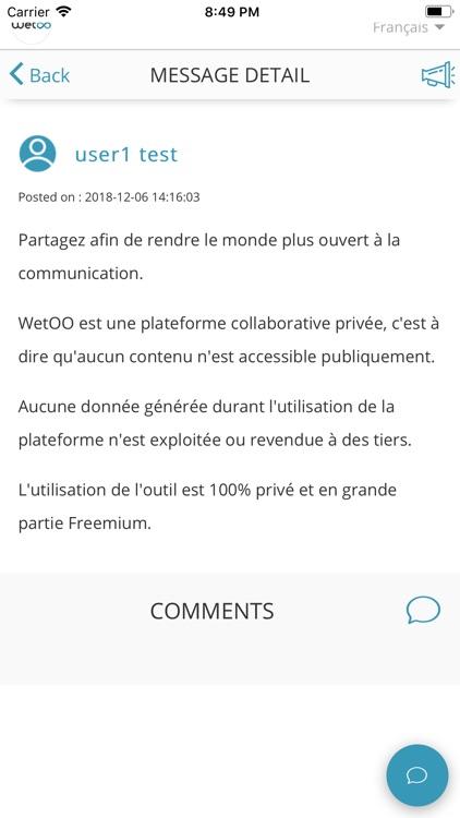 Wetoo Mobile screenshot-4