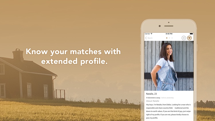 Farmers match dating