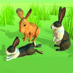 Poly Art Rabbit Simulator
