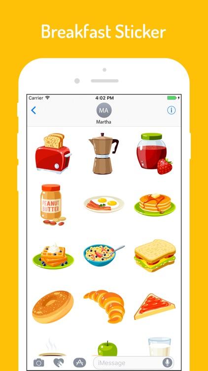 Food n Breakfast Stickers