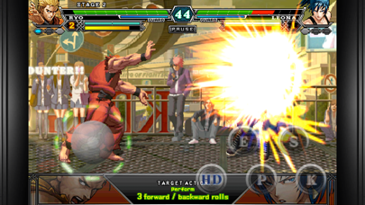 Screenshot from THE KING OF FIGHTERS-i 2012