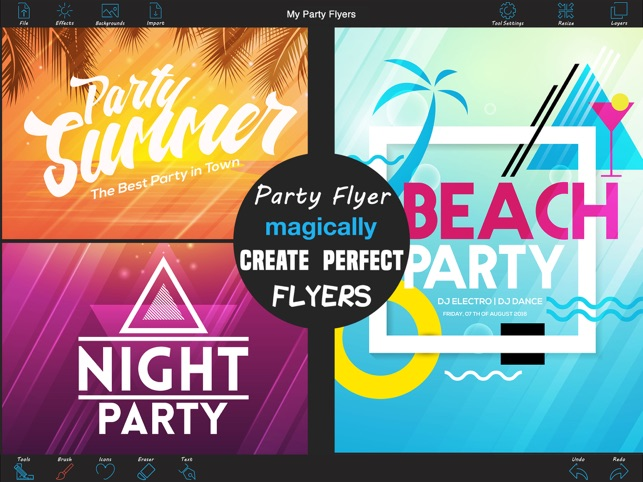 flyers parties