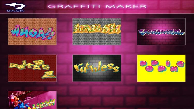 Graffiti Art Maker Lite screenshot-4