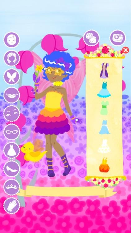 Fairy Fashion Show Dress Up screenshot-3