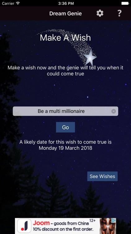 Make A Wish Come True Genie
