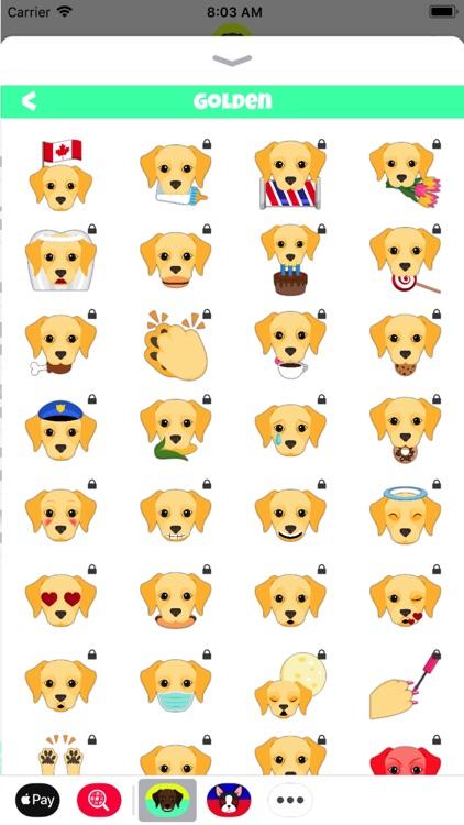 Labrador Emoji Stickers screenshot-3