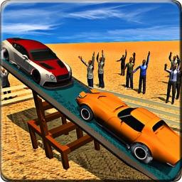 Seesaw Car Stunts