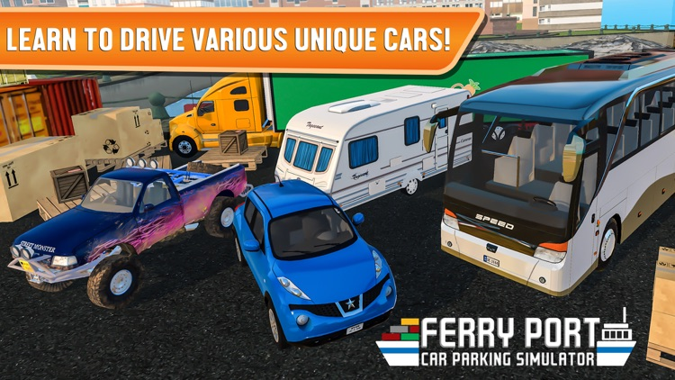 Ferry Port Car Parking Sim screenshot-4