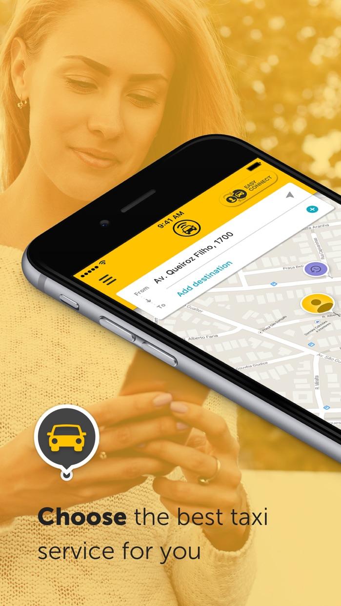 Easy - taxi, car, ridesharing Screenshot