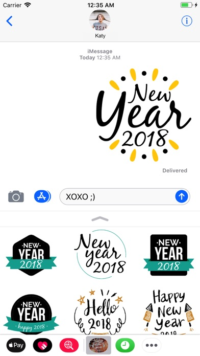 Hello 2018! Happy New Year! screenshot 3