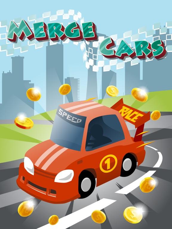 Игра Merge Cars City Evolution