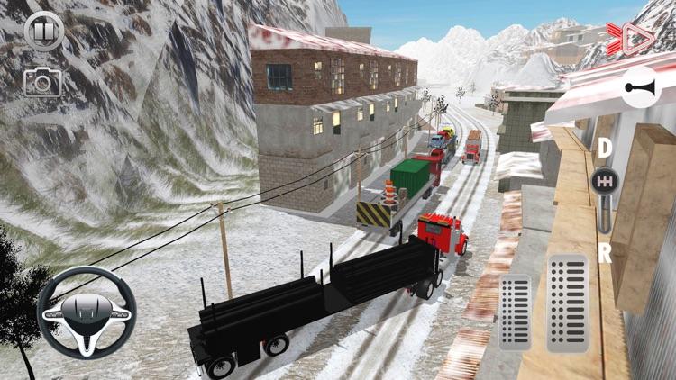 Offroad Cargo Transport Truck