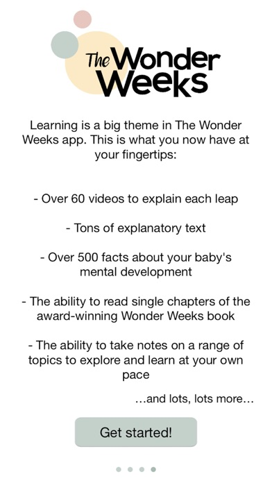 The Wonder Weeks app image