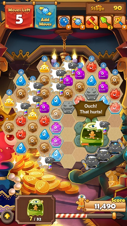 Monster Busters: Hexa Blast screenshot-4