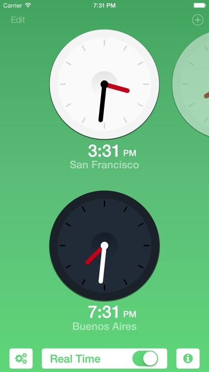 City Times - Easy Time Zones screenshot-3