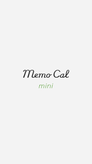 MemoCal mini screenshot1