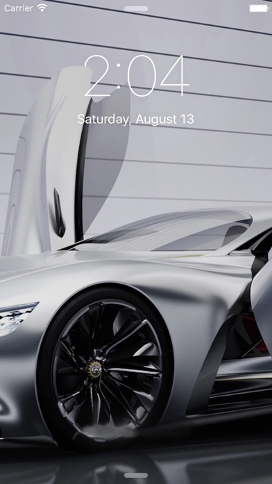 Car HD Wallpapers Deluxe Screenshot on iOS
