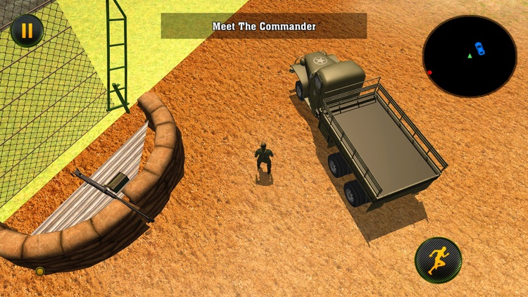 Army Cargo Truck: Battle Game screenshot-3