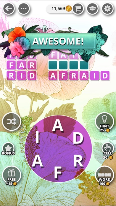 Image of Bouquet of Words - Word Game for iPhone
