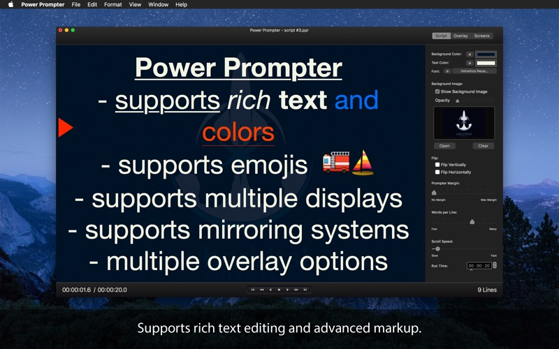 Power Prompter - Teleprompter