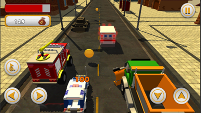 Crazy Kids Car Racing screenshot four