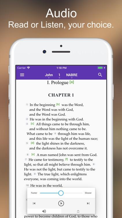 Catholic Bible Lite screenshot-3