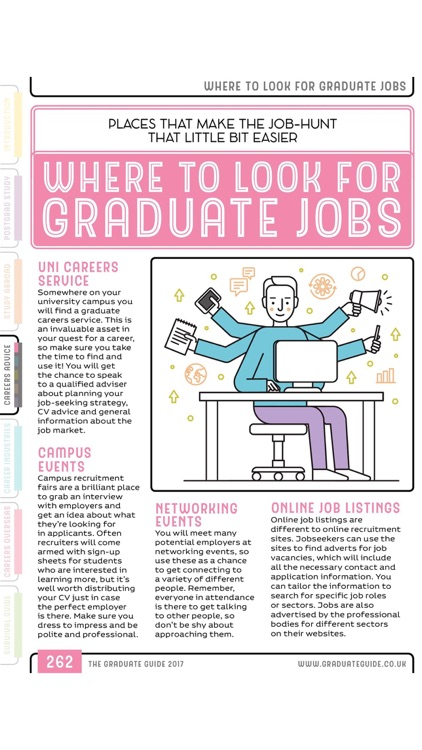 The Graduate Guide screenshot-3