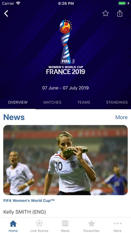 FIFA - Soccer News & Scores screenshot-1