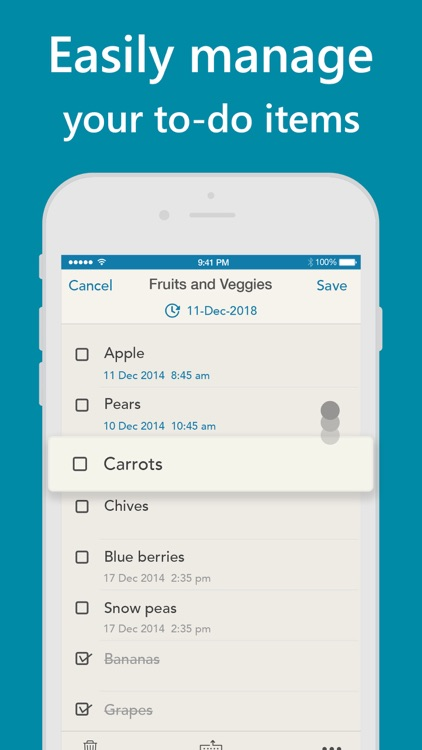 Orderly - Simple to-do lists screenshot-4