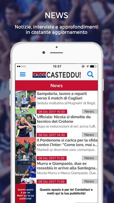 Calcio Casteddu screenshot 2