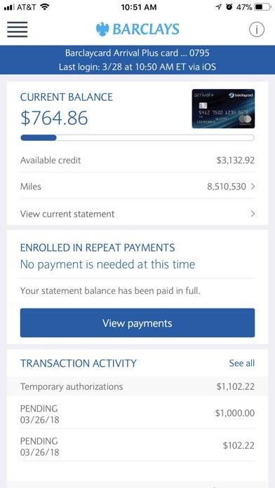 Barclays Us review screenshots