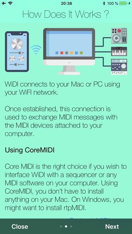 WiDI - MIDI Studio screenshot-7